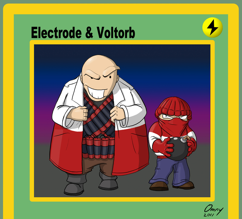 electrode and voltorb - photo #32