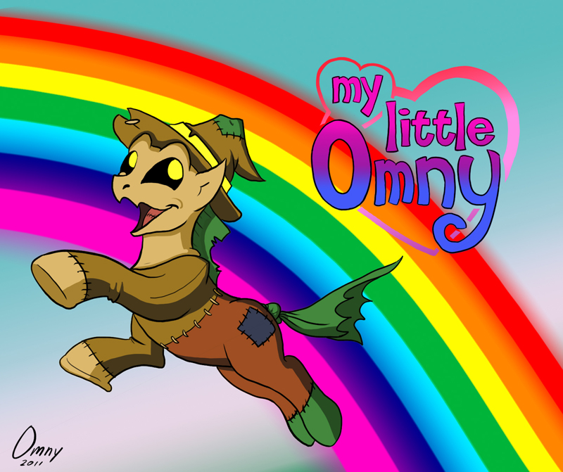 Versão pony do espantalho do filme: O Magico de OZ