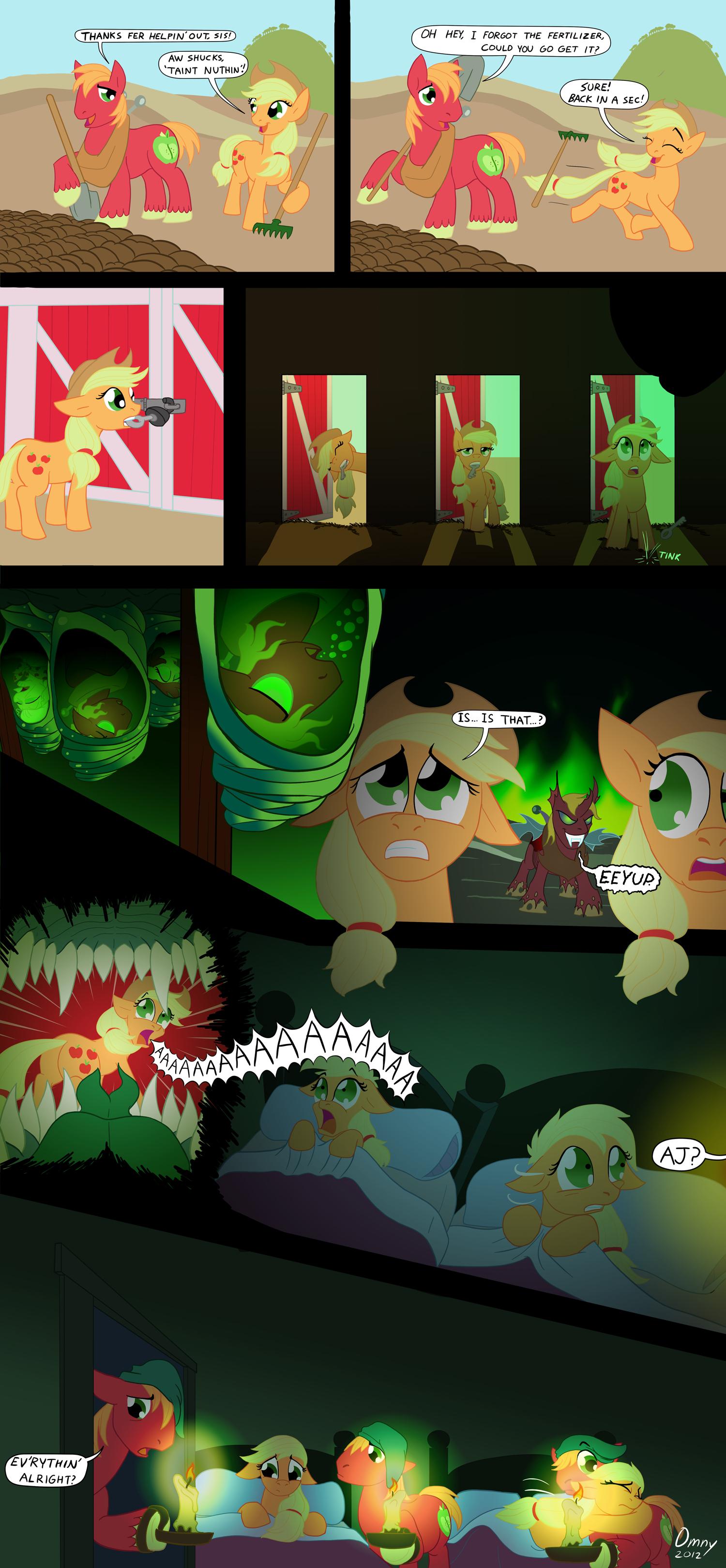 Applejack's Unease