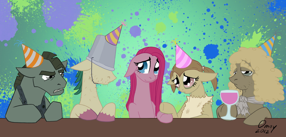 Party of Four by Omny87