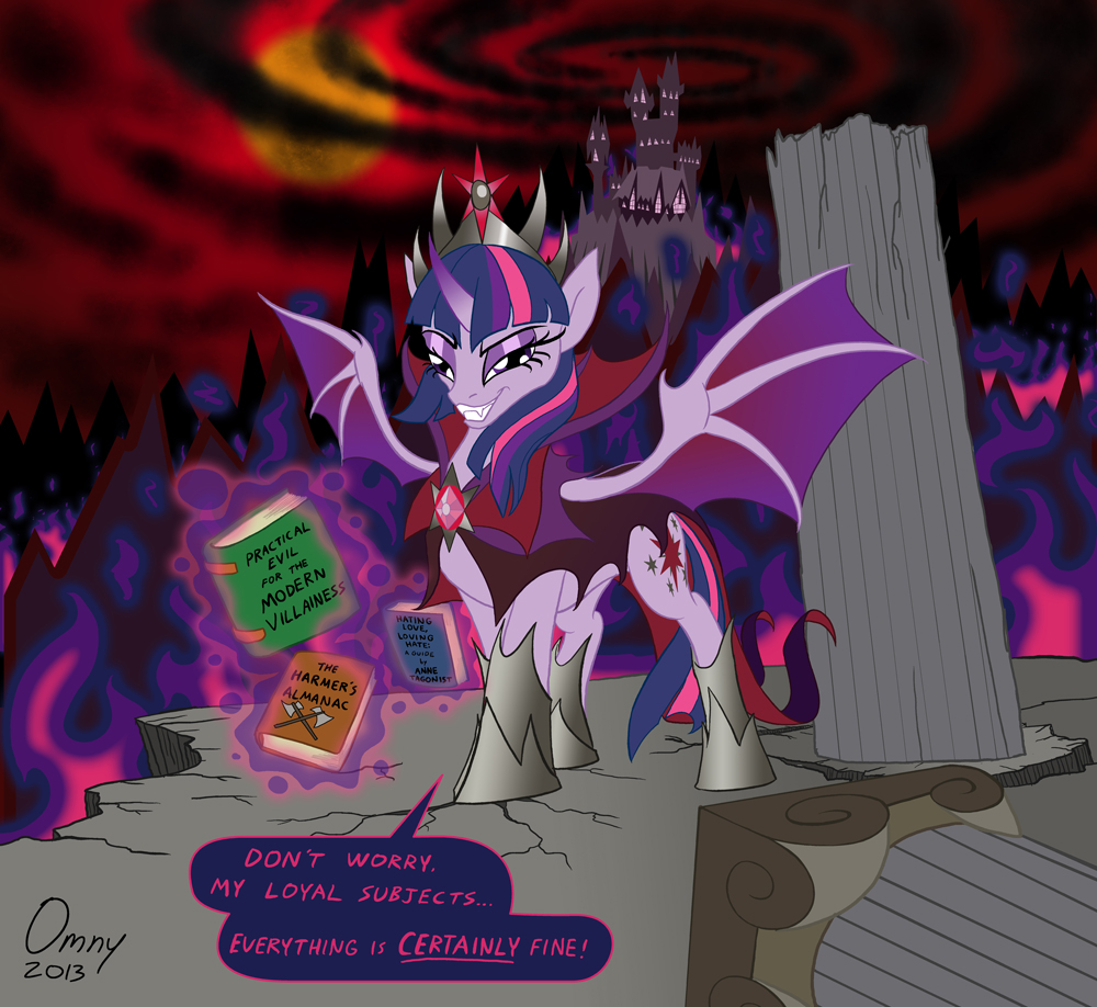 Evil Queen Twilight by Omny87