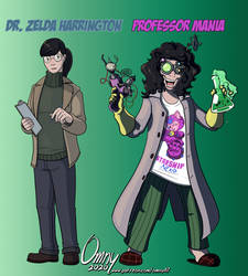 Dr. Harrington and Prof. Mania (for WC Purdy)