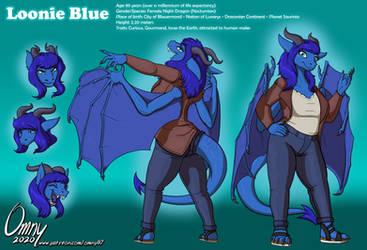 Loonie Blue Char. Sheet (for Cedric Moon)