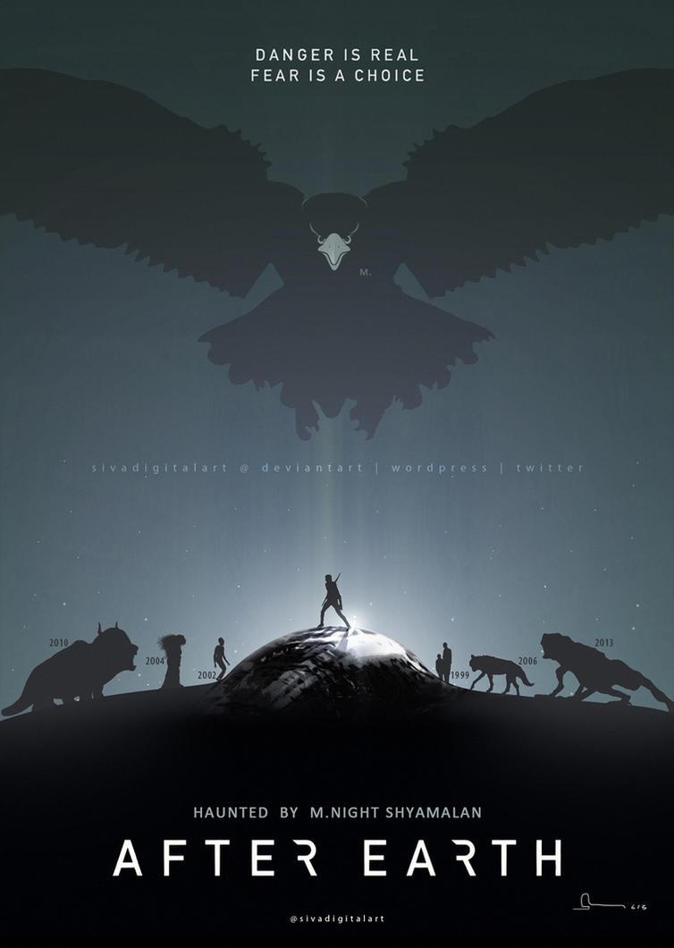 After Earth Fan Art Poster! by sivadigitalart on DeviantArt