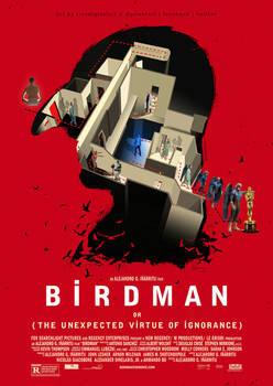 Birdman 2014 | FanArt Poster.