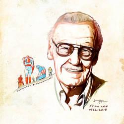 RIP Stan Lee! by sivadigitalart