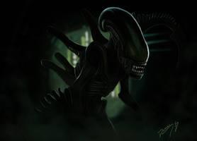 Alien by OBLIVIONHUNTER1