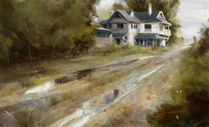 Home - Richard Schmid Painting Study by OBLIVIONHUNTER1