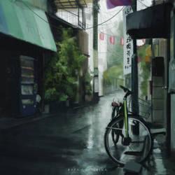 Rainy Sketch by OBLIVIONHUNTER1