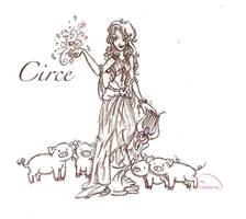 Circe by chaosmelon