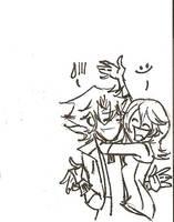happy hugs by chaosmelon