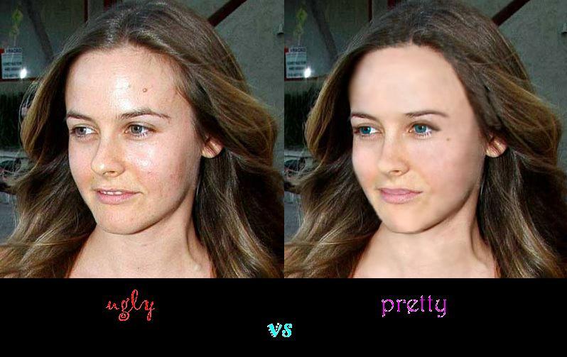 Ugly Vs Pretty by 8-Angel-8 on DeviantArt