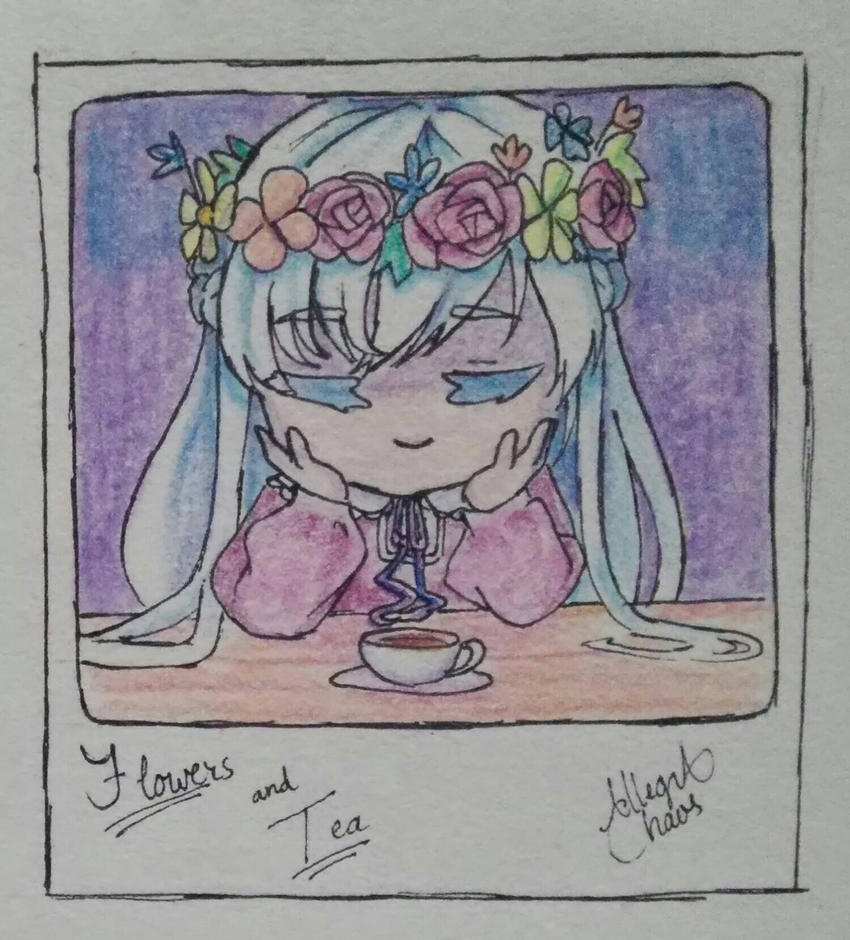 Flowers and Tea by allegra-chaos