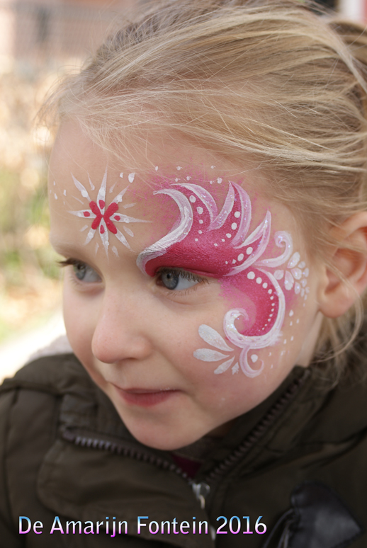 facepaint/schmink eyepiece in pink by pavalo