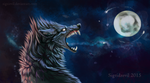the moon by Sevil-s