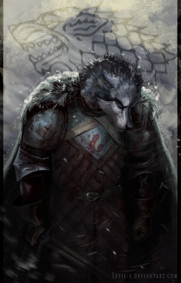 Robb Stark Game Of Thrones By Sevil S On Deviantart