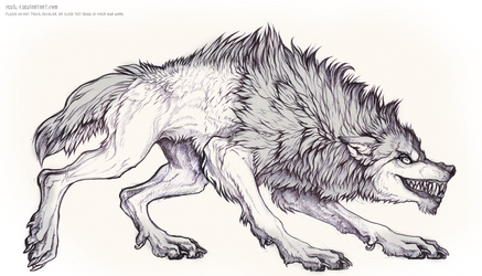 Werewolf by Sevil-s