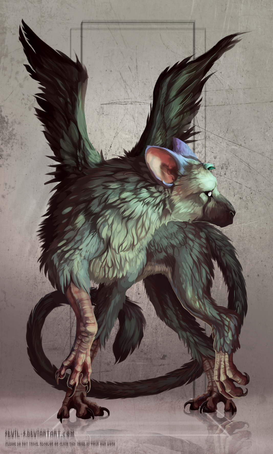 Trico The Last Guardian By Sevil S On Deviantart