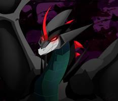 Dragonformer: Starscream by ZheyZhey