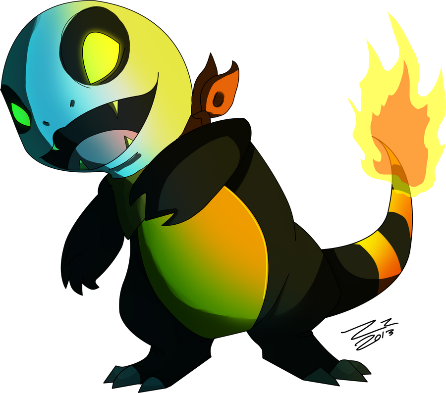 My Spooky Charmander by ZzNightmareGirlzZ