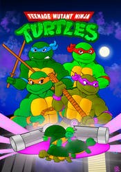 Teenage Mutant Ninja Turtles 87 Tribute