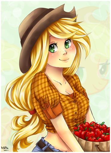 Applejack by Nataliadsw