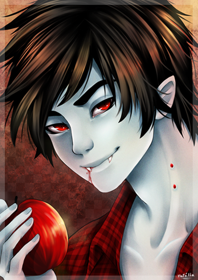 Marshall lee , the vampire king by Nataliadsw