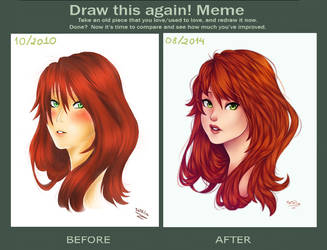 Draw this again meme - Sai