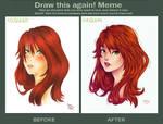 Draw this again meme - Sai