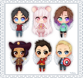 Baby Chibi batch 1 by Nataliadsw