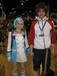 Anime Central 2012 Eureka 7 cosplayers
