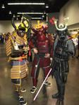 AM2 2012 Samurai... and Vader-sama