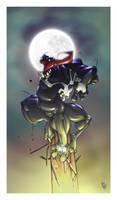 Venom Comes Back Coloured by dlofqvist