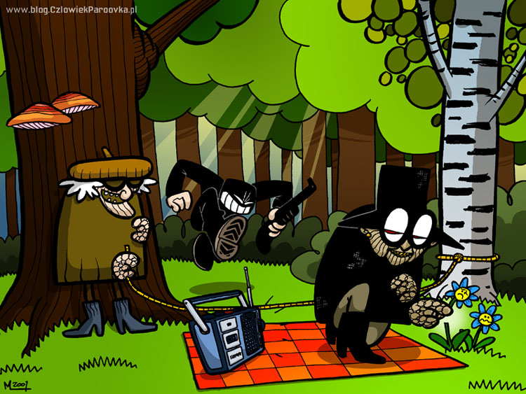 Grand Banda in the woods by paroovka