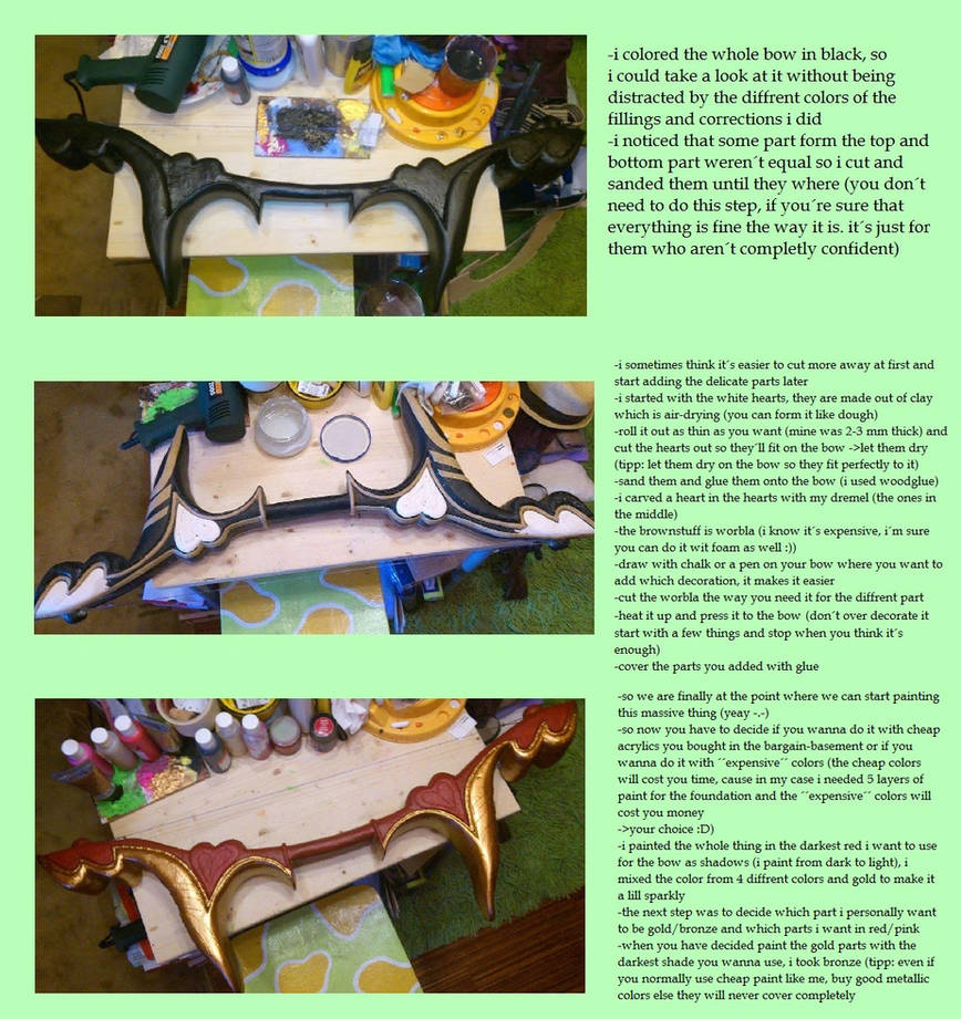 Heartseeker Ashe Bow Tutorial 2 League of Legends by VanyTheVampire