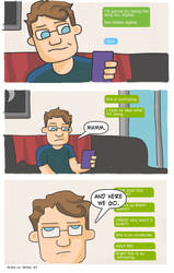 Artist vs Writer Strip 5 by nearmintmill