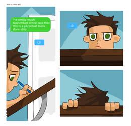 Artist vs Writer Strip 42 by nearmintmill