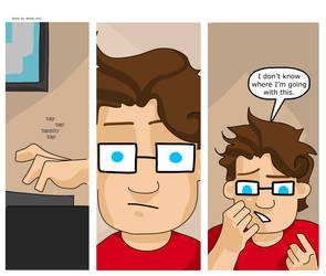 Artist vs Writer Strip 43 by nearmintmill