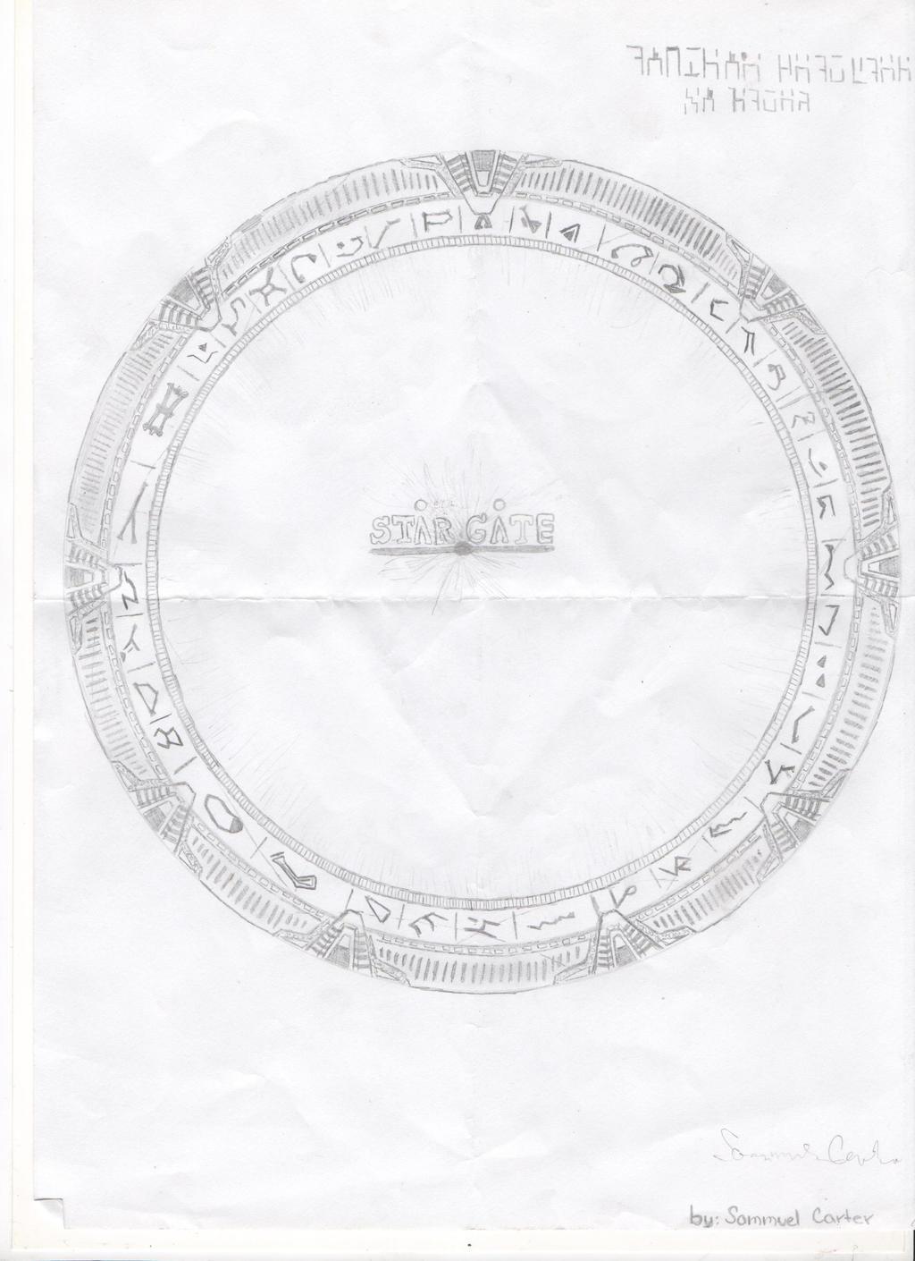 MilkyWay Stargate by sgfanclub