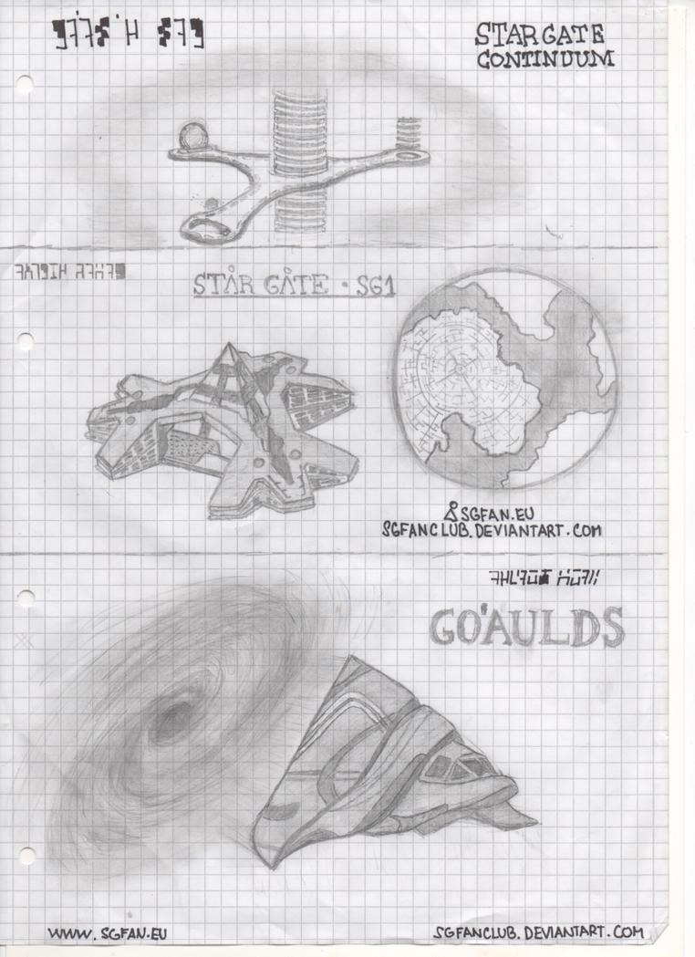 Goauld squadron by sgfanclub