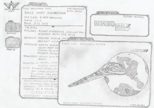 Stargate: Rebirth Computer Database Interface