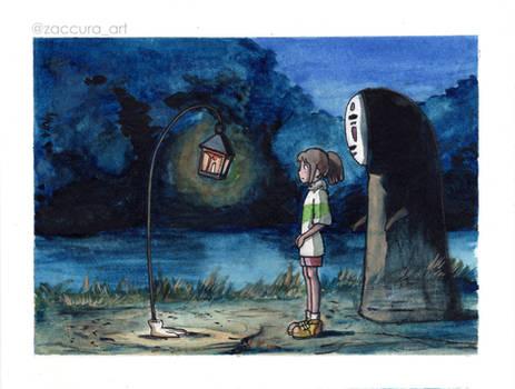 Spirited Away scene study 2 | Hopping Lantern