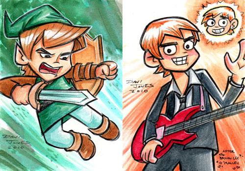Gamer Boy Heroes by danidraws