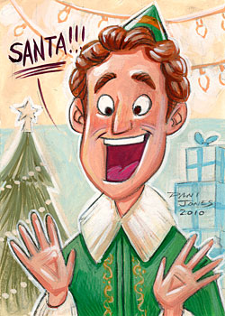 Buddy the Elf by danidraws