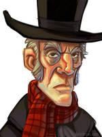 Scrooge in Brushes by danidraws