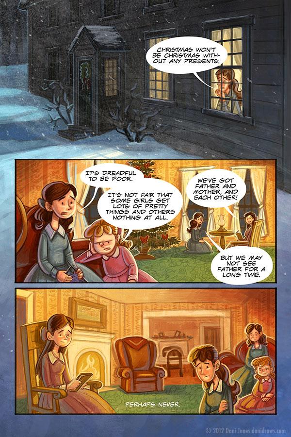 Little Women Christmas 1 by danidraws