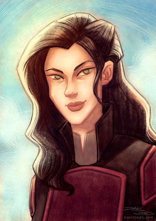 Asami by danidraws