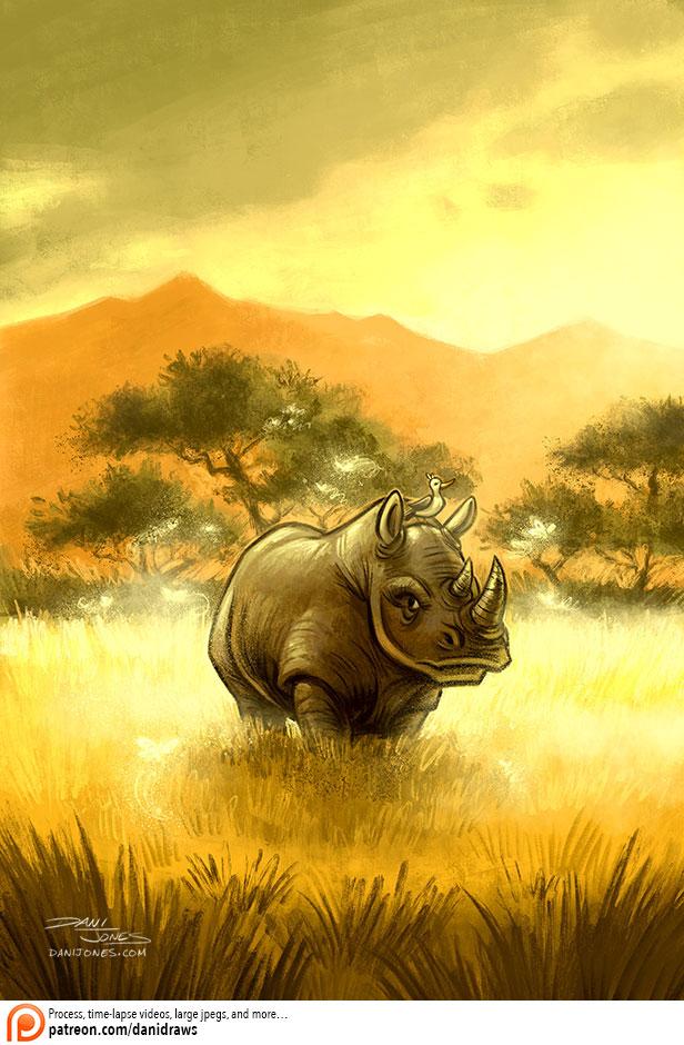 On the Savanna by danidraws