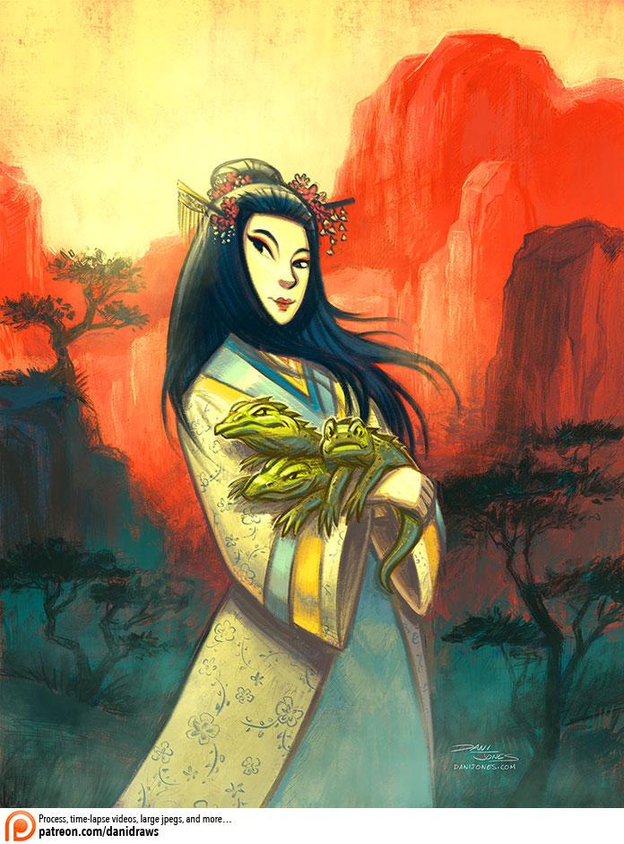 Dragon Princess by danidraws