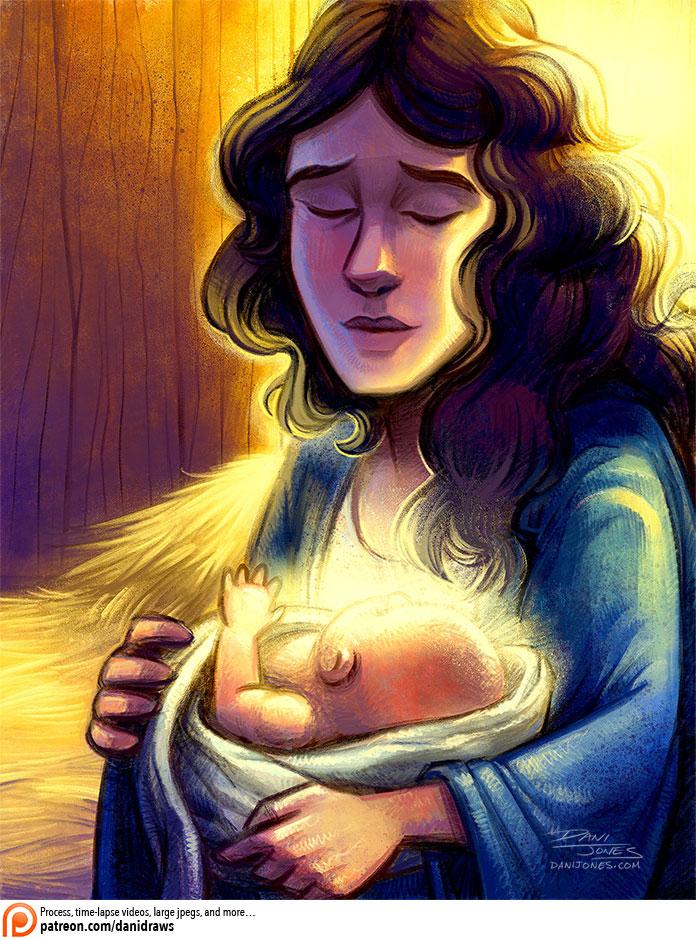 Mary by danidraws